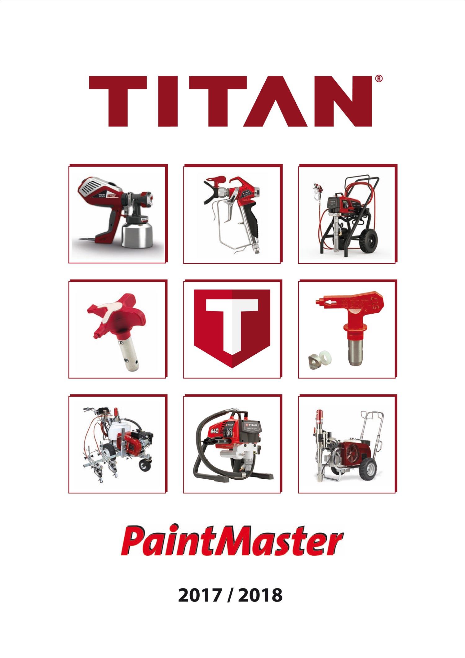 Linz Titan Spritztechnik Produktkataloge 2017