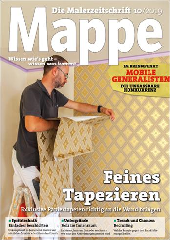 Mappe Spritztechnik | Oktober 2019