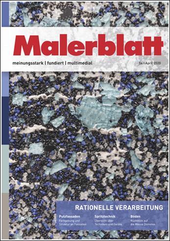 Malerblatt | April 2020